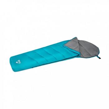 Спальный мешок одноместный BW 68102 на молнии  (Голубой)