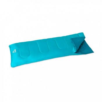 Спальный мешок односпальный BW 68099 в чехле (Голубой)