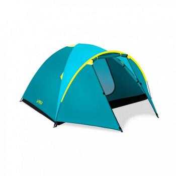 Палатка туристическая четырьехместная BW 68091 с навесом