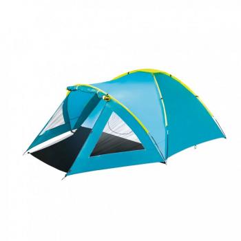 Палатка туристическая трёхместная BW 68090 с навесом
