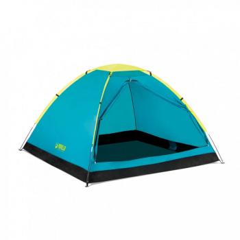 Палатка туристическая трёхместная BW 68085 с навесом