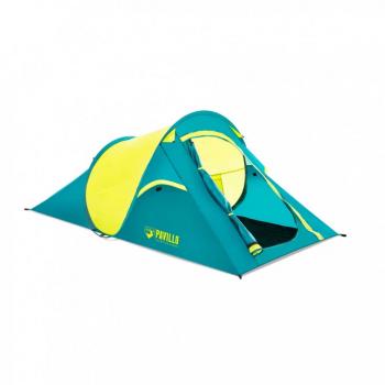 Палатка туристическая двухместная BW 68097 с навесом, водонепроницаемая