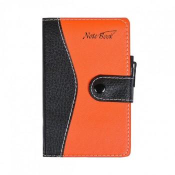 Блокнот 14,5*8,5см с ручкой в обложке кож/зам, клетка 5960