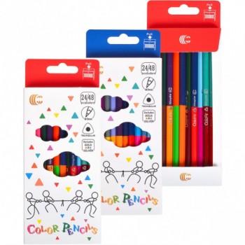 Детские двухсторонние карандаши для рисования  White gold