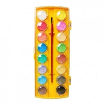 Акварель сухая для рисования 6016, 16 цветов