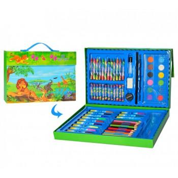 Детский набор для рисования MK 3226 в чемодане (Африка)