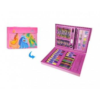 Детский набор для рисования MK 3226 в чемодане (Дамочки)